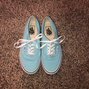 pale tiffany blue vans